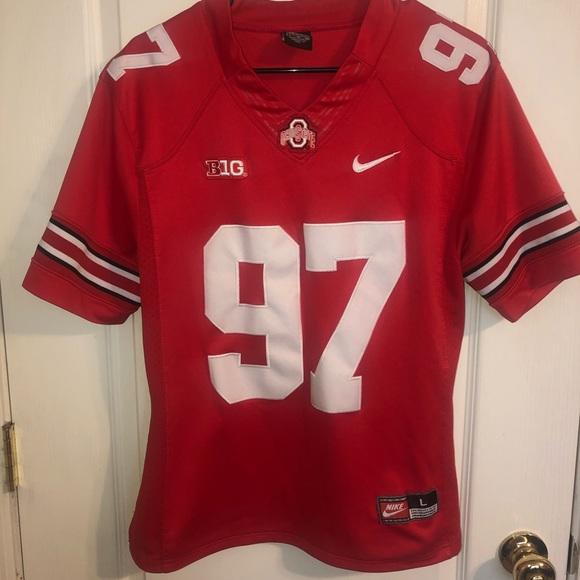 new products 77f41 30b69 Stitched Ohio State Bosa Jersey - Nike